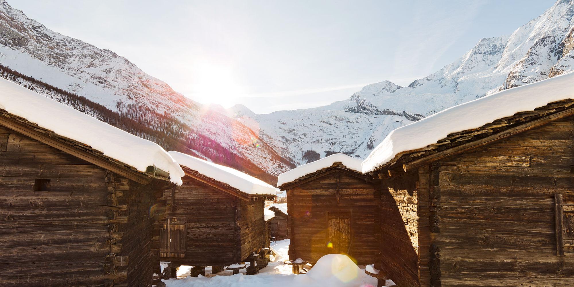 Saas-Fee Winter