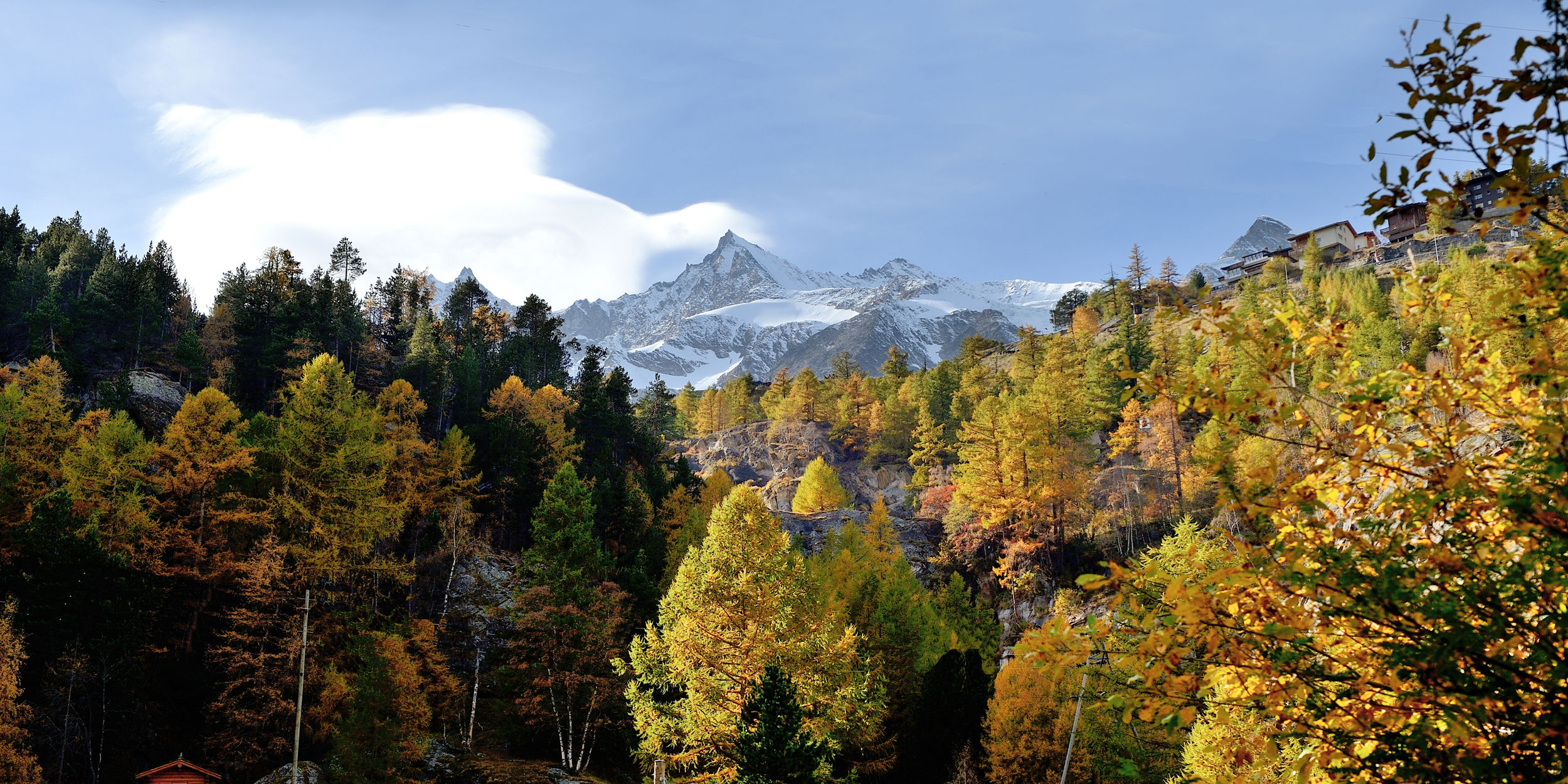 Herbst in der Freien Ferienrepublik Saas-Fee