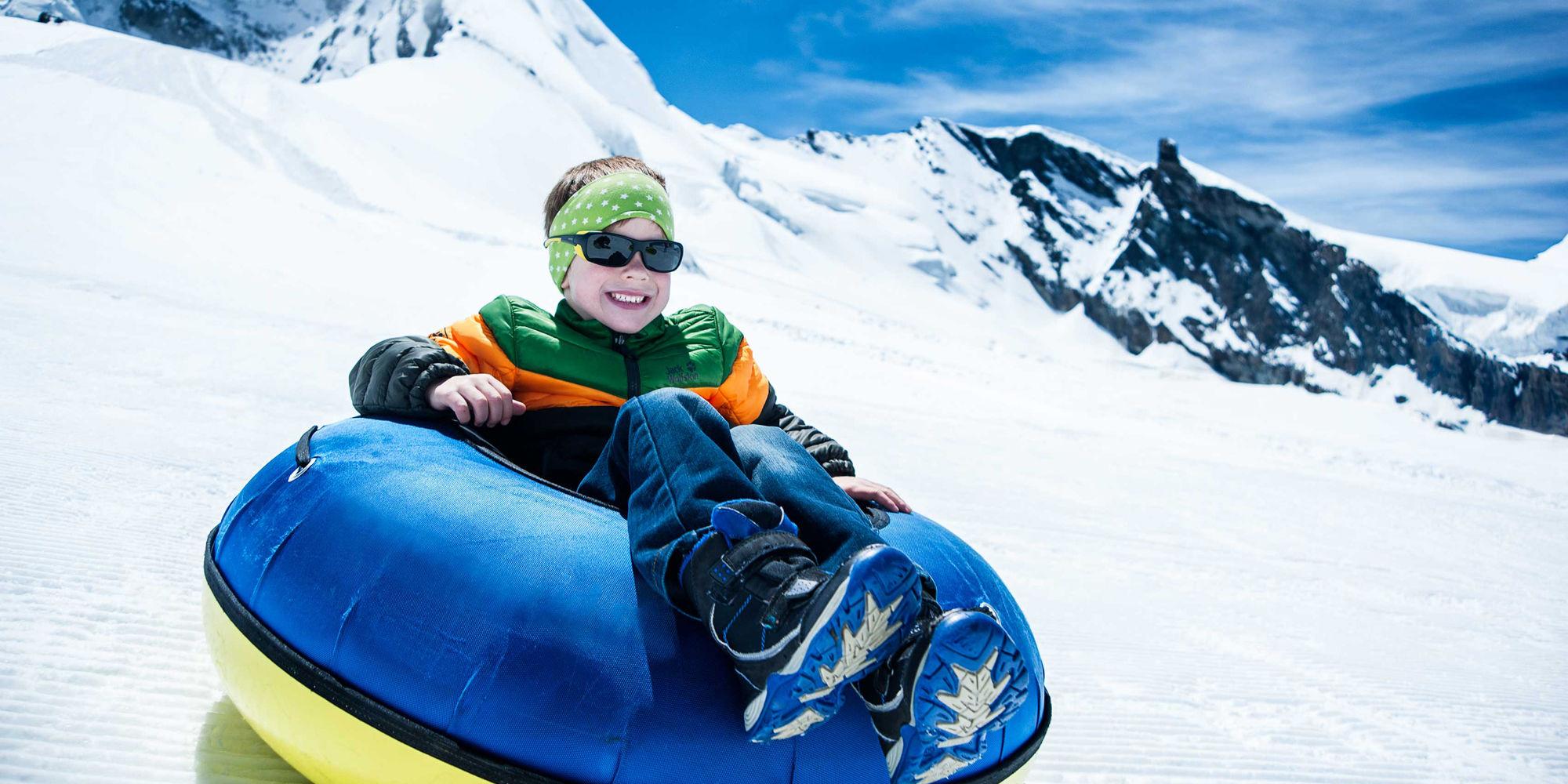 Glacier Fun