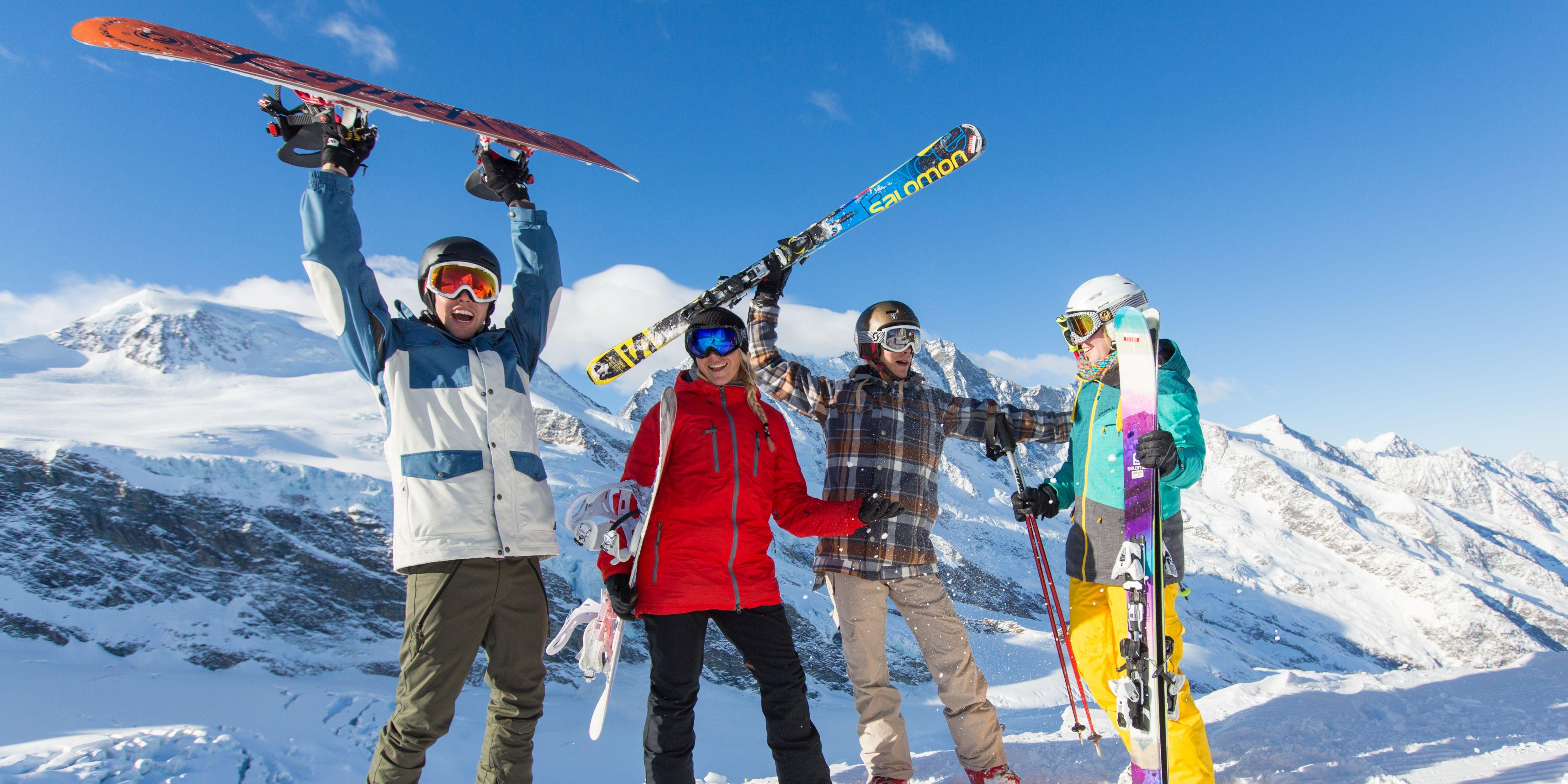 Skitest Saas-Fee