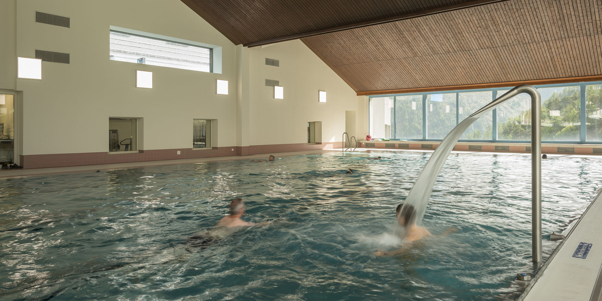 Aqua Power Fitness in der Freien Ferienrepublik Saas-Fee