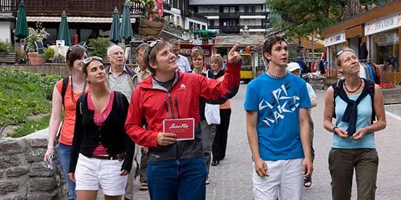 Dorfrundgang in der Freien Ferienrepublik Saas-Fee