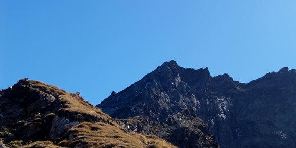 Klettersteig Mittaghorn in der Freien Ferienrepublik Saas-Fee