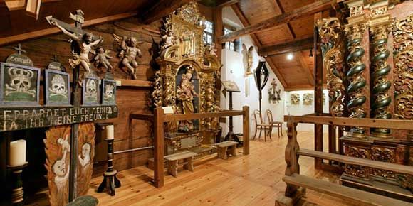 Saaser Museum in der Freien Ferienrepublik Saas-Fee