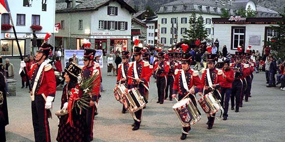 Sommerkonzert in der Freien Ferienrepublik Saas-Fee