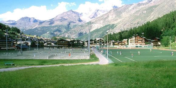 Sportplätze in der Freien Ferienrepublik Saas-Fee