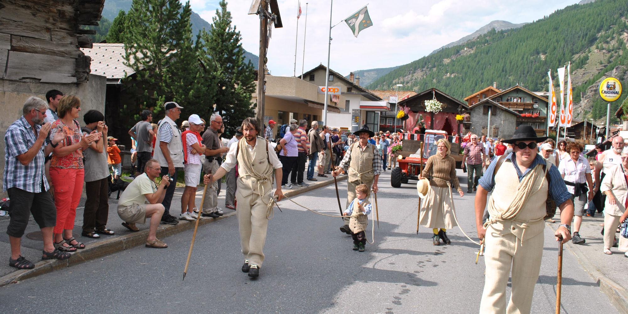 1. August Feier in der Freien Ferienrepublik Saas-Fee