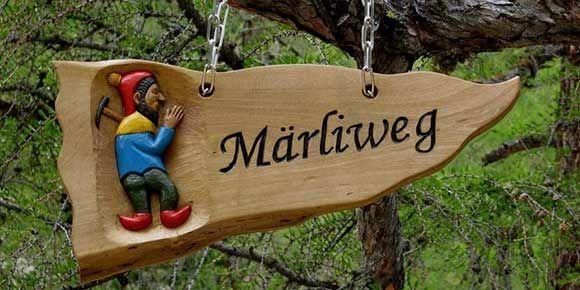 Märchenweg in der Freien Ferienrepublik Saas-Fee