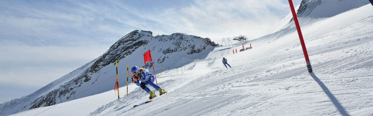 Allalin Races in the Free Republic of Holidays Saas-Fee