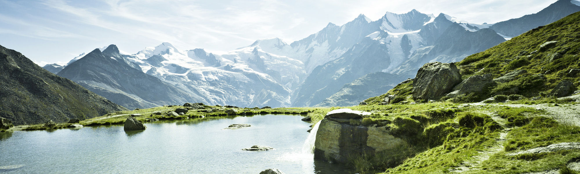 Outdoor Wellness in der Freien Ferienrepublik Saas-Fee