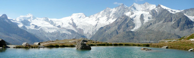 Course de montagne de Hohsaas dans la République Libre des Vacances Saas-Fee