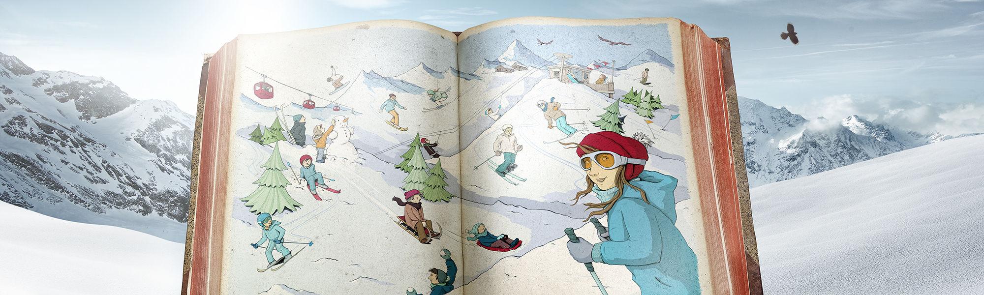 Märchenwinter in der Freien Ferienrepublik Saas-Fee