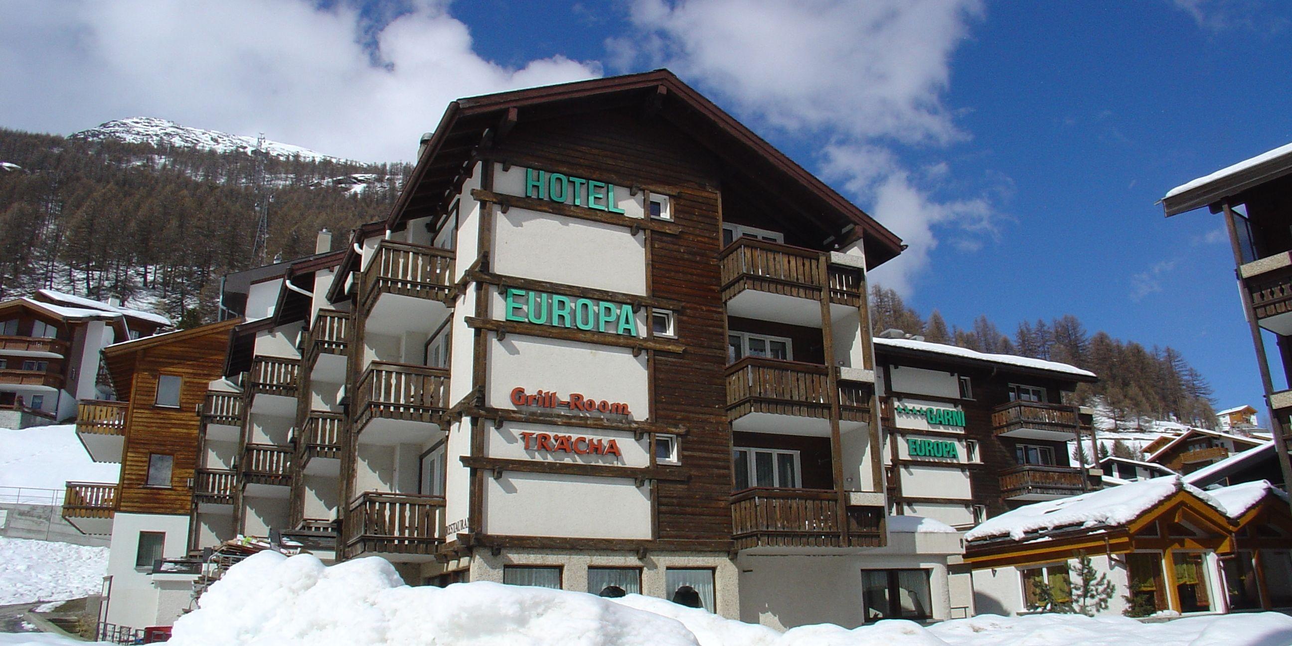 Hotel Europa - Free Republic of Holidays Saas-Fee
