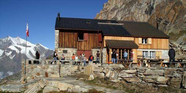 Almagellerhütte in der Freien Ferienrepublik Saas-Fee