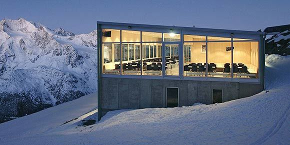 Restaurant d'altitude d'Hohsaas en Saas-Fee
