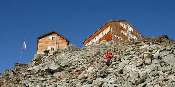 Mischabelhütte in der Freien Ferienrepublik Saas-Fee