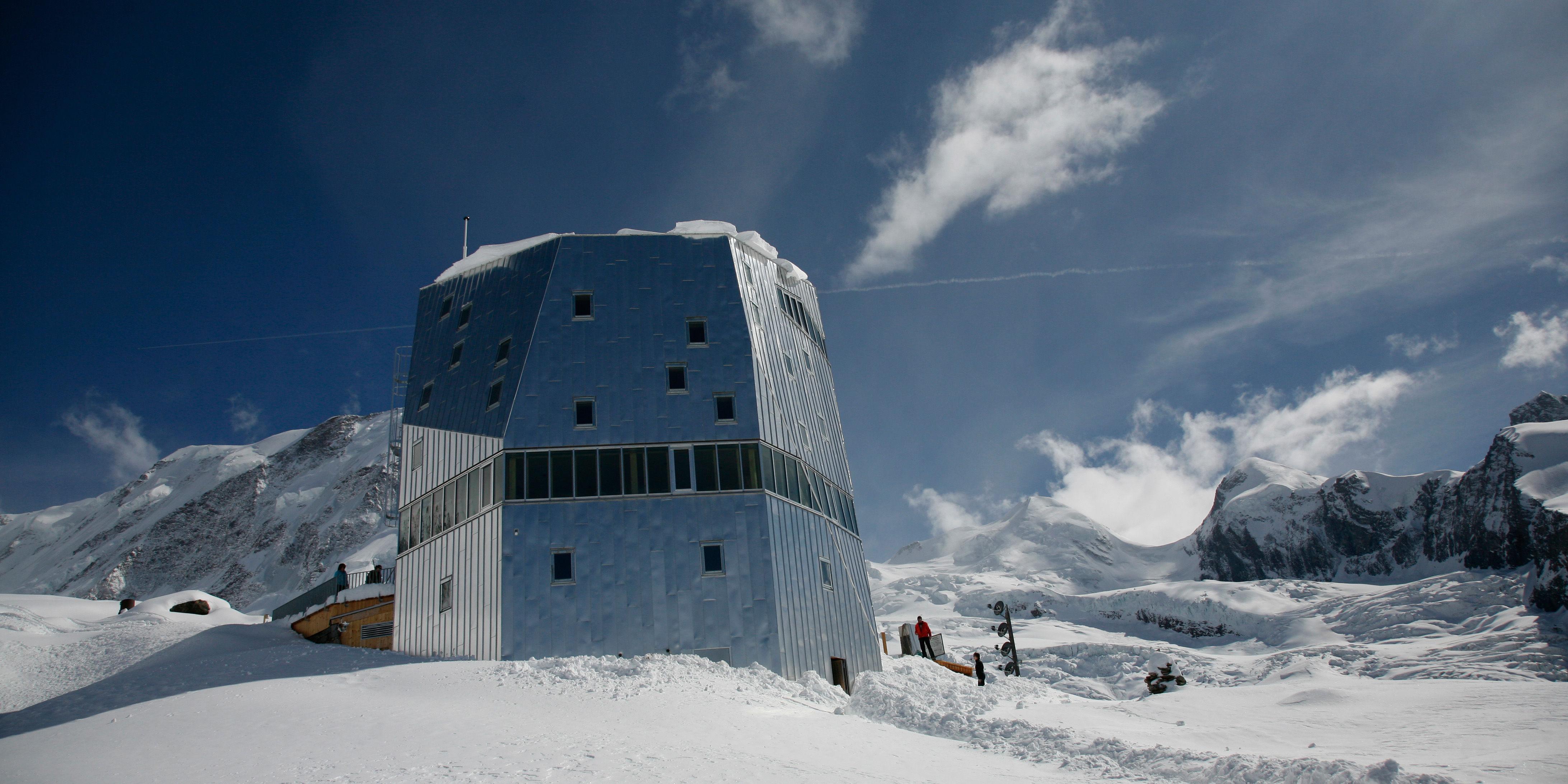 Monte Rosa Berghütte