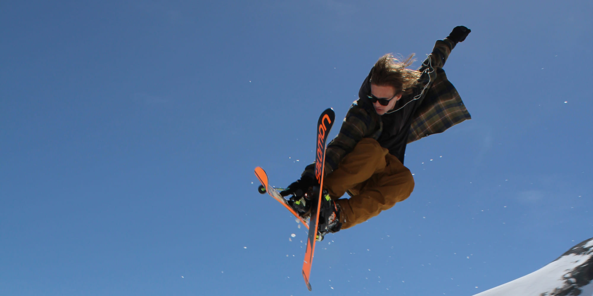 Sommerski in Saas-Fee Snow Park Snowboard Freestyle