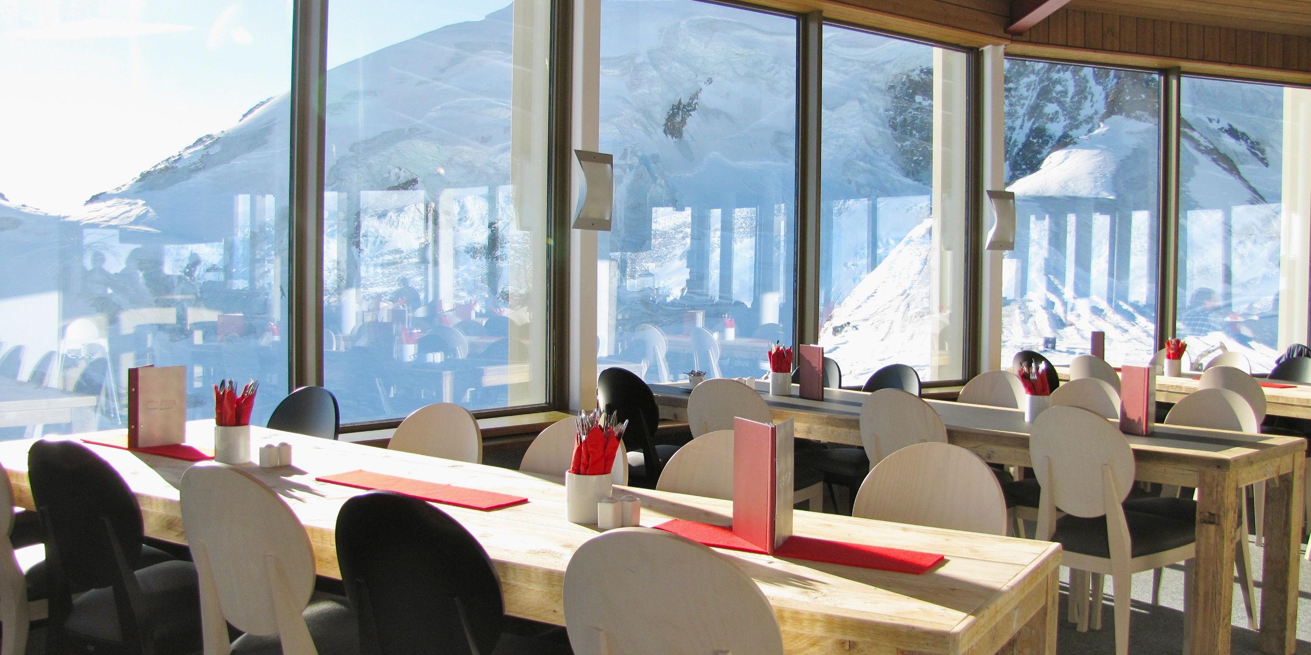Familienfreundliche Restaurants in der Freien Ferienrepublik Saas-Fee