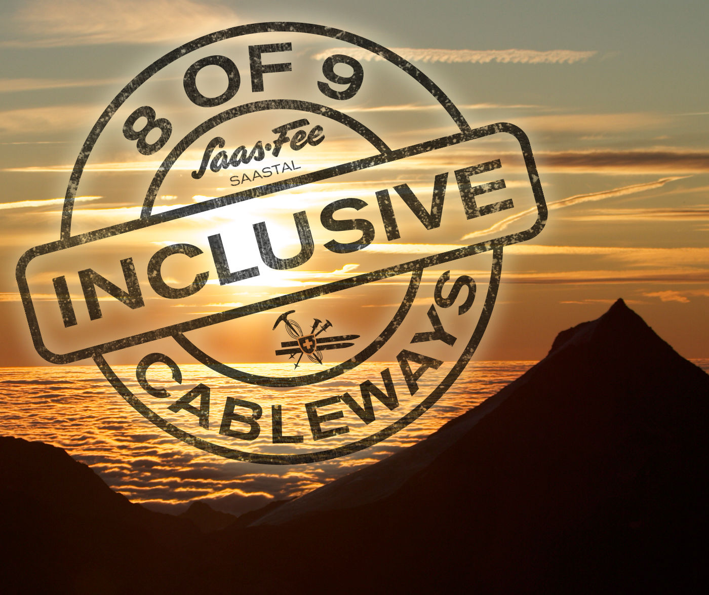 Cableways inclusive