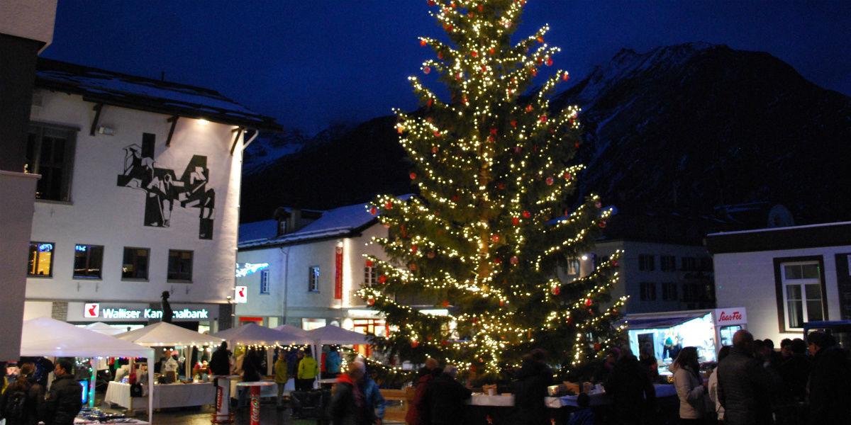 Weihnachtsmarkt Saas-Fee