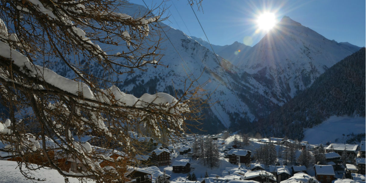 Winterwandern Saas-Fee