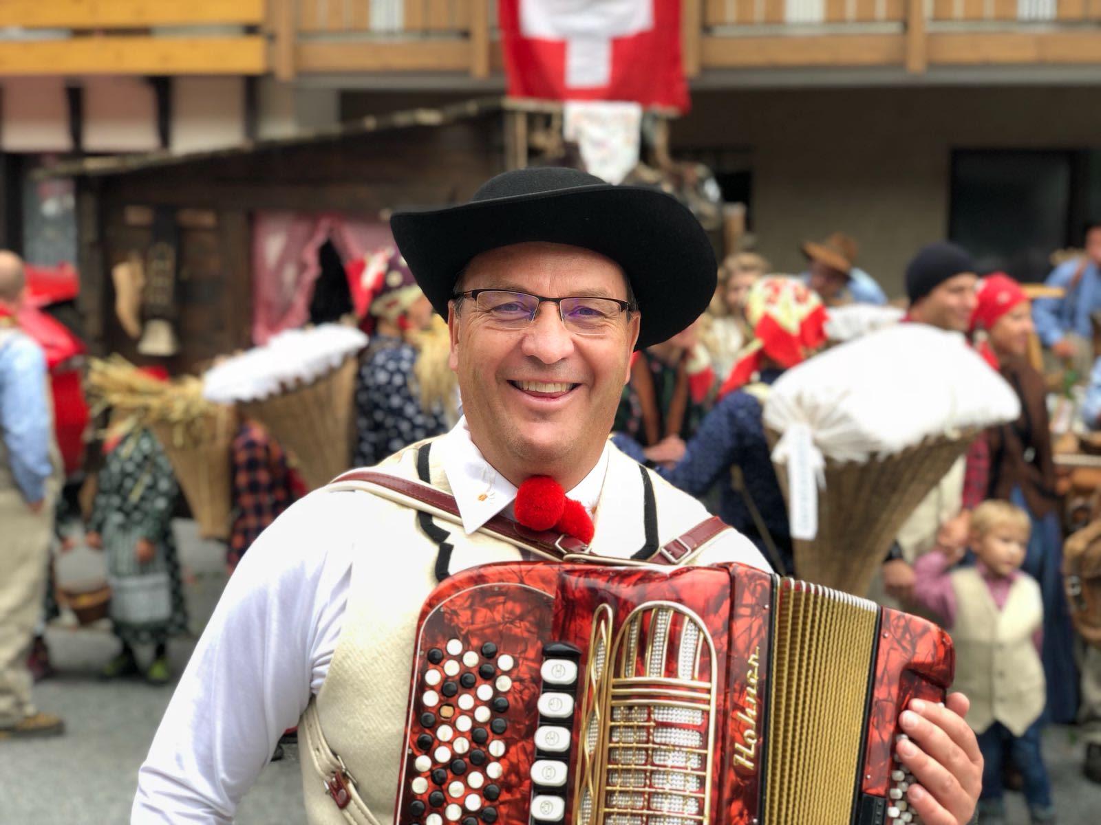 """""""1 August Umzug Musiker"""""""