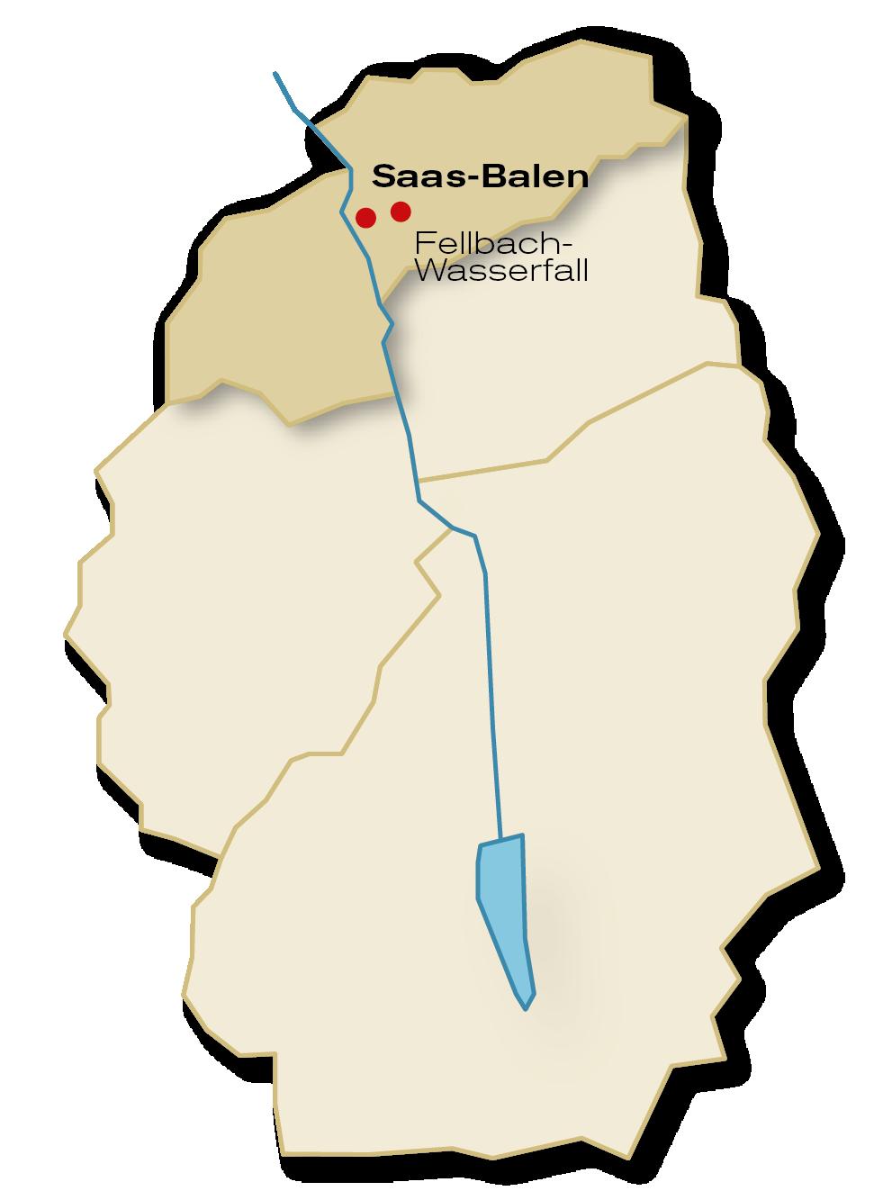 Gemeinde Saas-Balen Übersicht