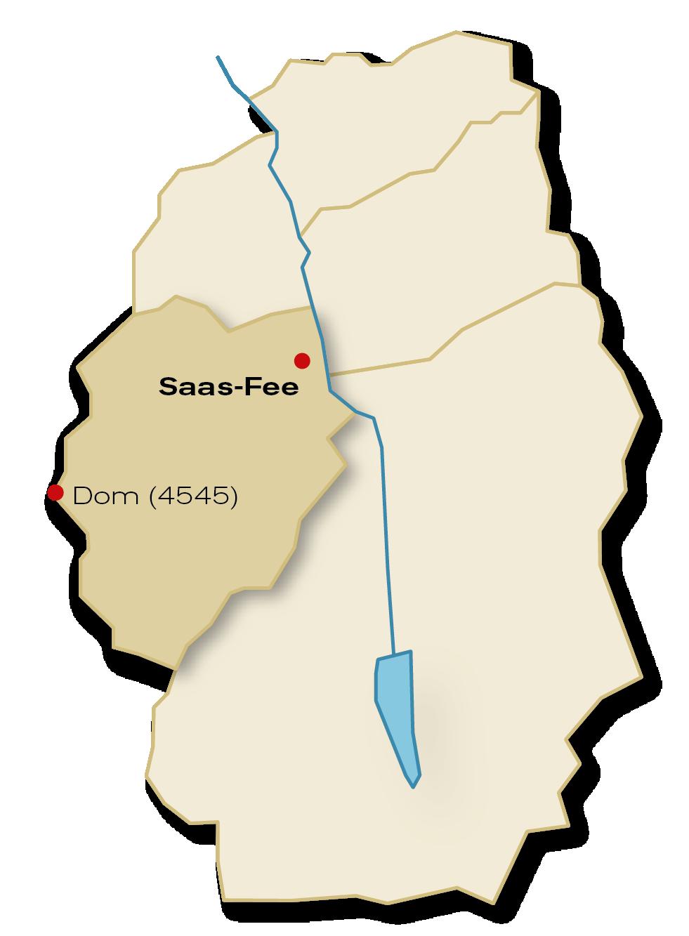 Gemeinde Saas-Fee Übersicht