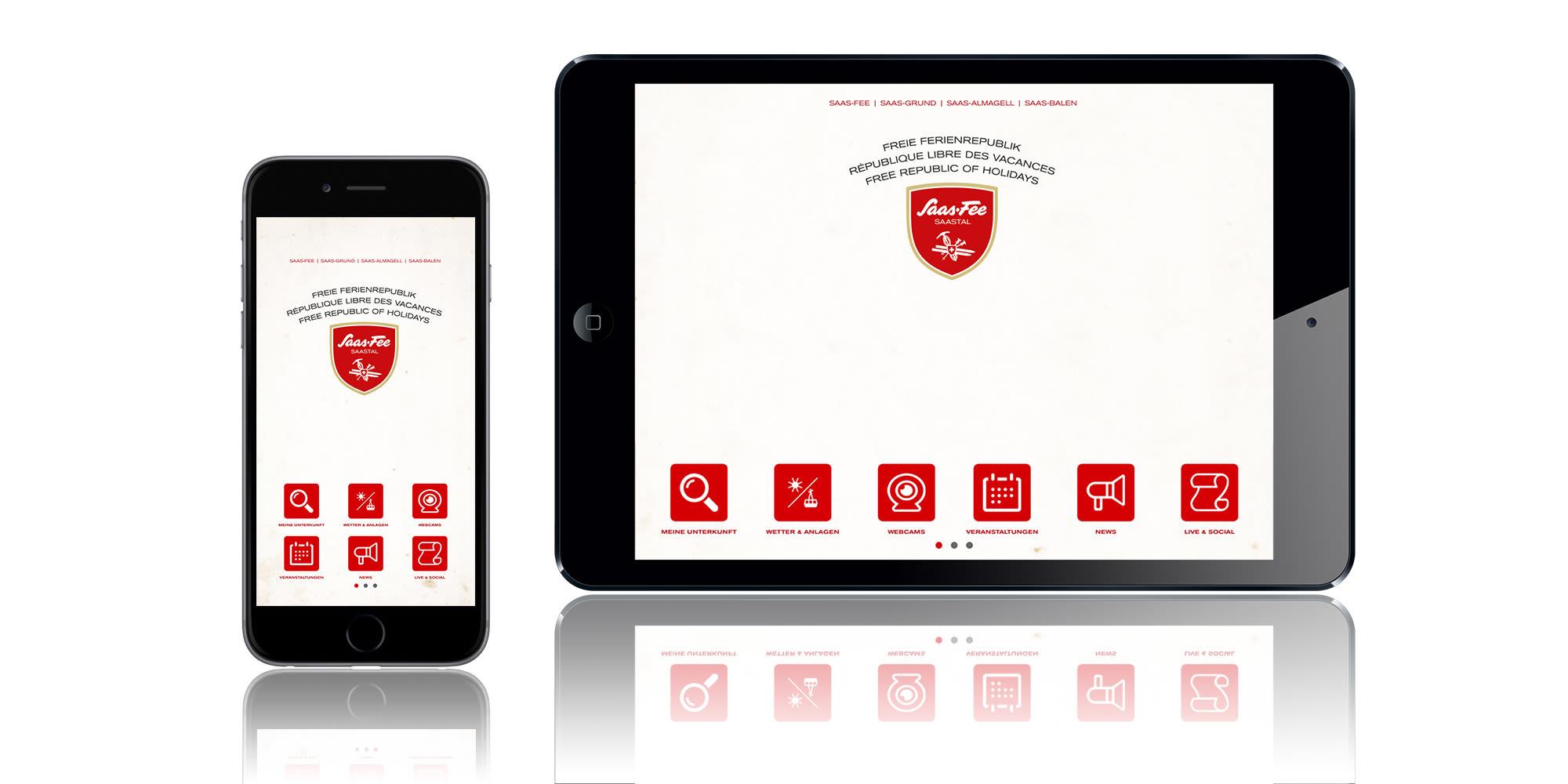 Saas-Fee / Saastal App - Preview