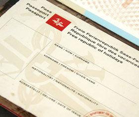 Bürgerpass der Freien Ferienrepublik Saas-Fee