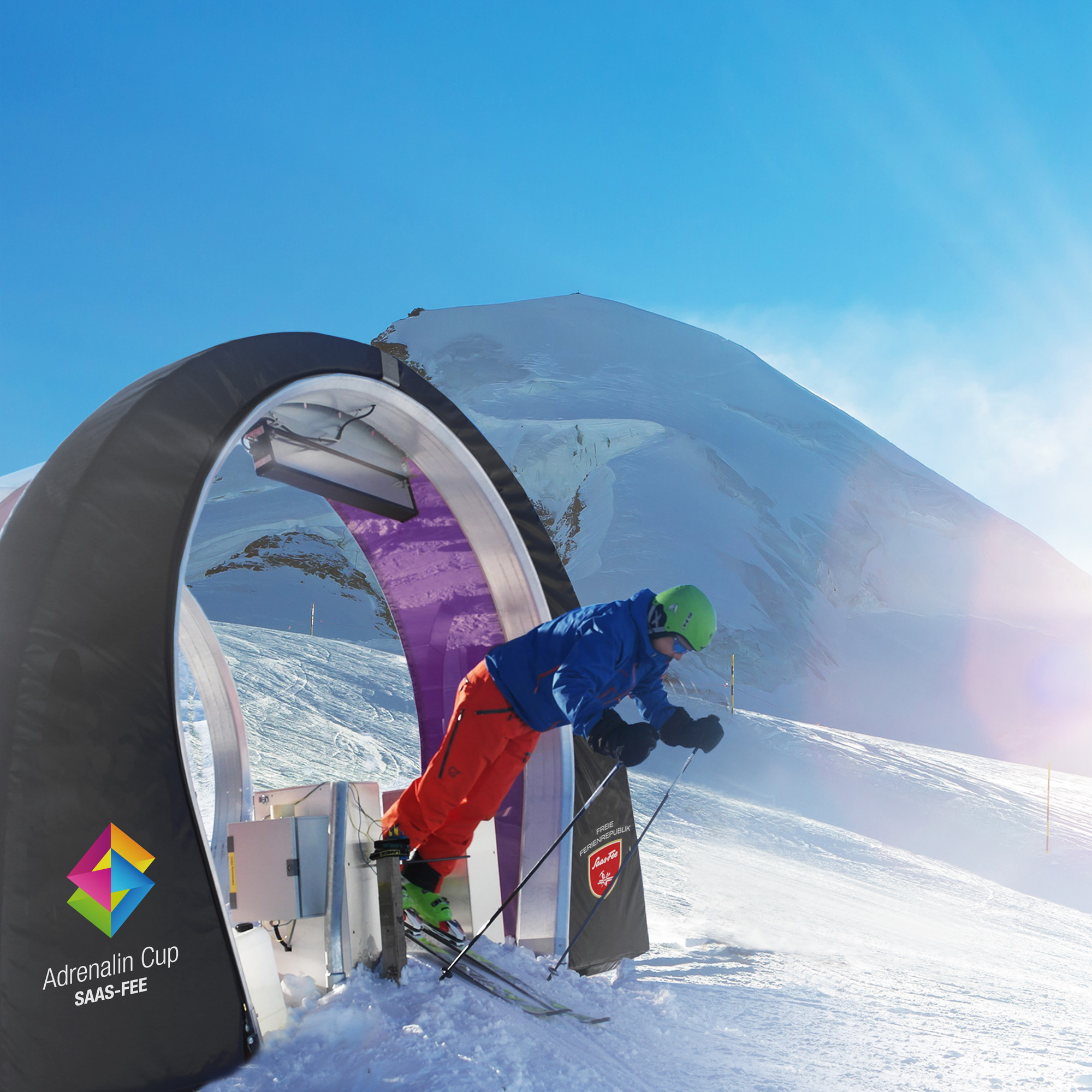 Adrenalin Cup in the Free Republic of Holidays Saas-Fee