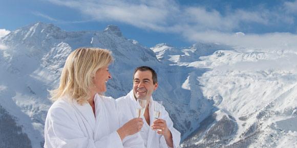 Alpine Wellness in der Freien Ferienrepublik Saas-Fee