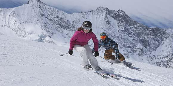 Skipass in der Freien Ferienrepublik Saas-Fee