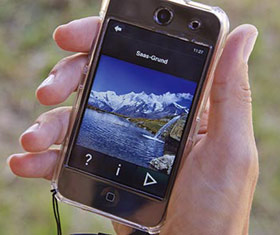 App der Freien Ferienrepublik Saas-Fee
