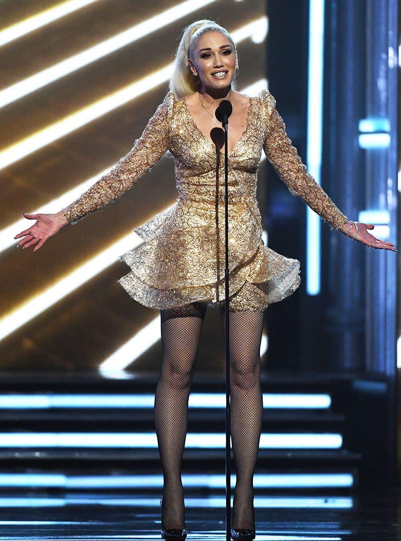 Гвен Стефани на церемонии вручения музыкальной награды Billboard Music Awards в Ти-Мобайл Арене, Лас-Вегас, 21 мая 2017 г.