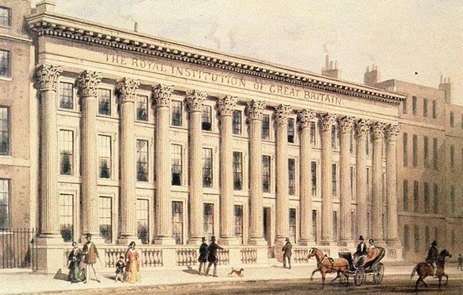Королевский лондонский институт в 1830-е годы