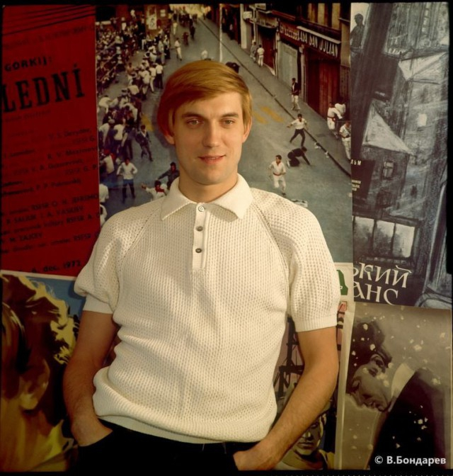 Легендарные актеры советского кино в фотографиях Владимира Бондарева СССР, актеры, кино
