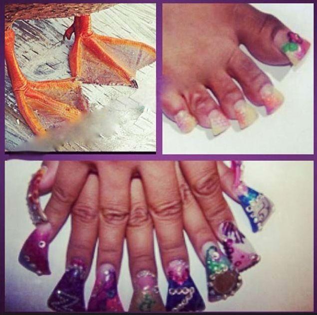 Cute fake nails at walmart