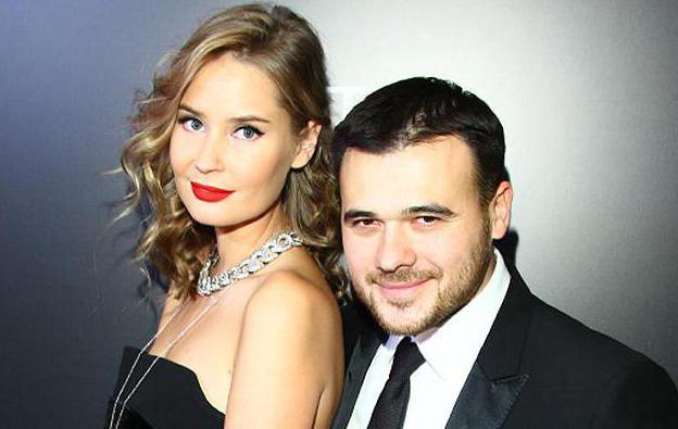 Эмин агаларов и его жена лейла