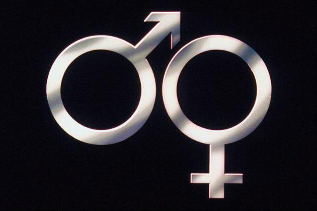 знак женщина и мужчина