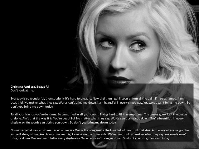 Christina aguilera new song lyrics