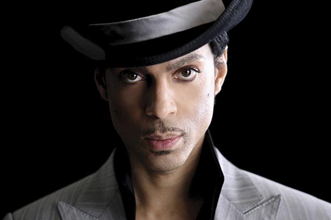 Фото певца принц