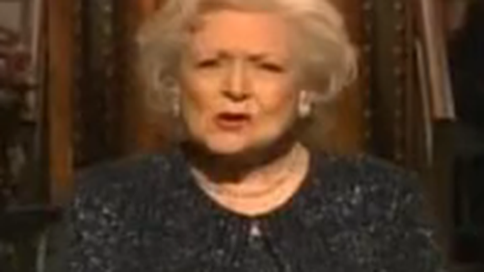 Betty white snl monologue video