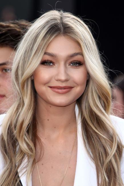 Blond hair celebrities