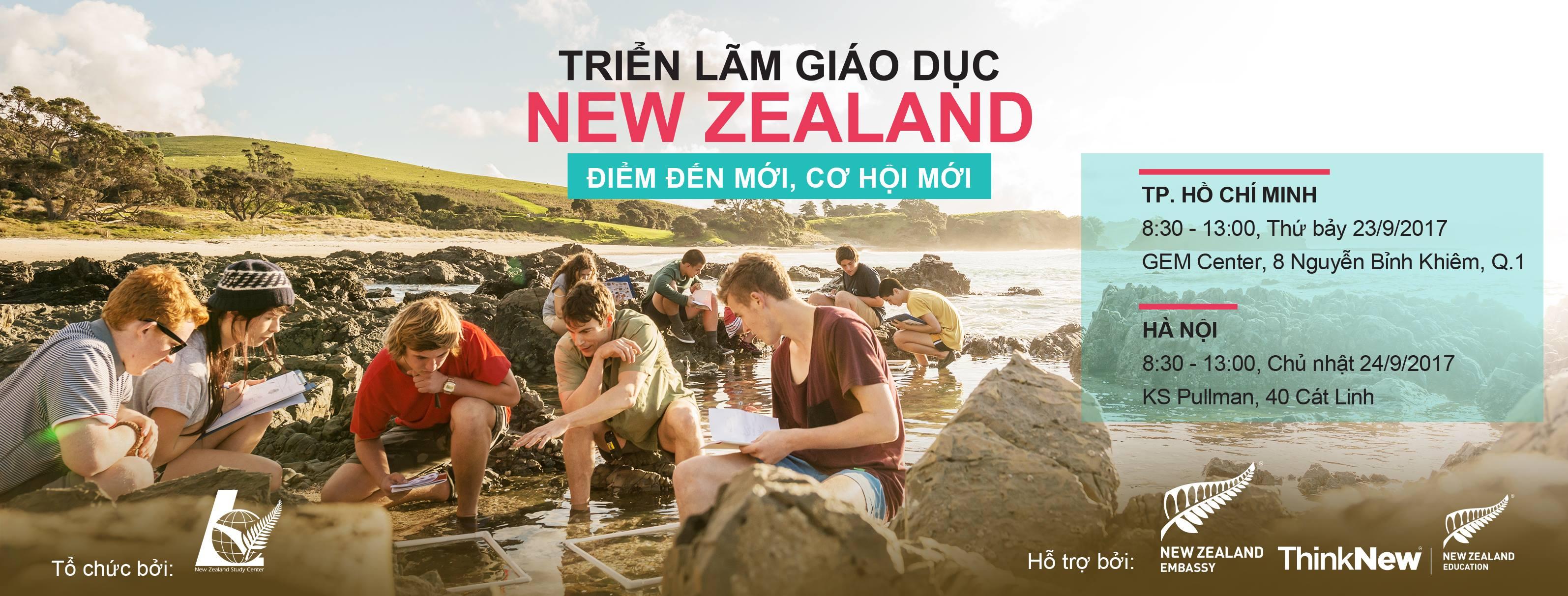 Triễn lãm Giáo dục New Zealand tháng 9 2017