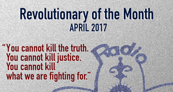 Revolutionary of the Month, Apr 2017 - Jean Dominique