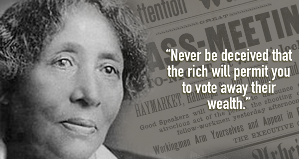 Revolutionary of the Month, May 2017: Lucy Gonzalez Parsons