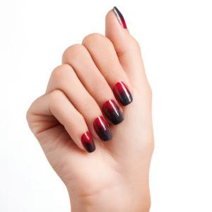 Дизайн ногтей растяжка блестками