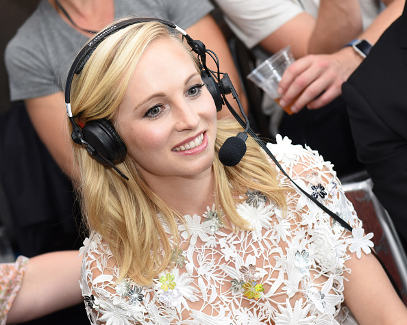Candice accola backup singer miley cyrus